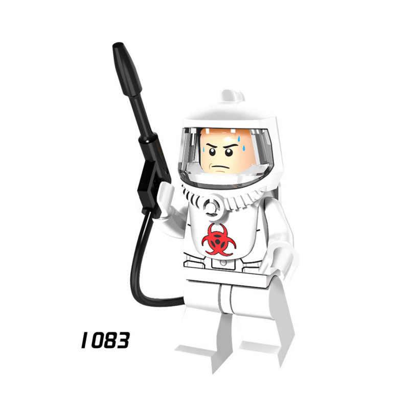ขายเดียว Super Hero Star Wars 1083 ป้องกันทีมชุดบล็อกอาคารรูปของเล่นเด็กของขวัญ