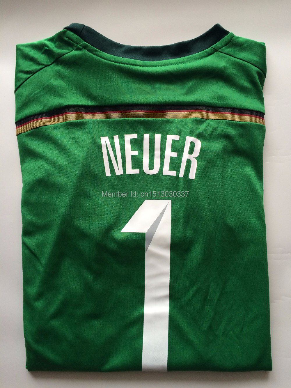 Top Quality Thai Germany soccer jersey goalkeeper jersey Manuel Neuer  jersey 4 Stars kit World Cup 2014 Germany goalkeeper shirt-in Soccer  Jerseys from ... 341be9c15
