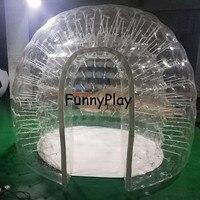 Transparent gonflable pelouse bulle tente, Montre paysage bulle matériel de camping un temps gonflable gonflable plage Tente de mariage