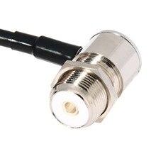 16FT/5 M Coaxial S'étend Câble pour Voiture Talkie Walkie MP320 MP9000 5 Mètre De Voiture Radio Antenne Câble Faible Perte Mobile Radio câble