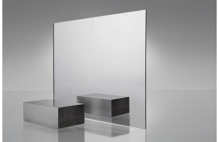 400mm x 300mm x 1 0mm Acrylic PMMA 1 Sided Clear Mirror 8 pcs lot