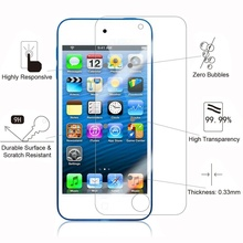 iPod Touch 6th Generation Screen Protector Tempered Glass Screen Protector for iPod Touch 6 & iPod touch 5 Screen Protector