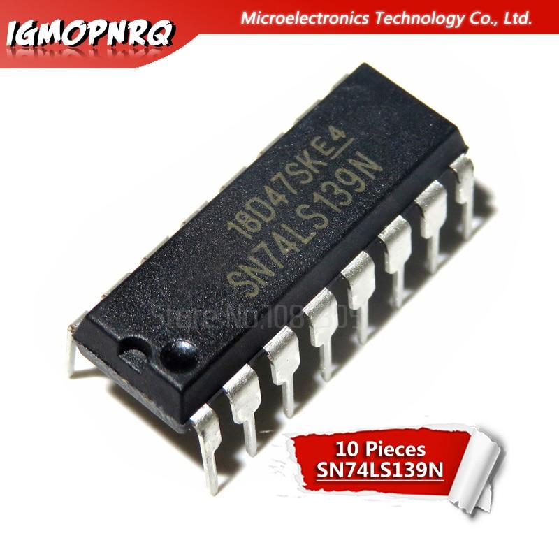10PCS SN74LS139AN DIP-16 SN74LS139N DIP16 74LS139 DIP HD74LS139P