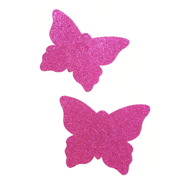 50pairs (100Pcs) /lot Woman nipple Cover Breast Petals Sexy Disposable Soft Silicone Nipple Cover butterfly shape