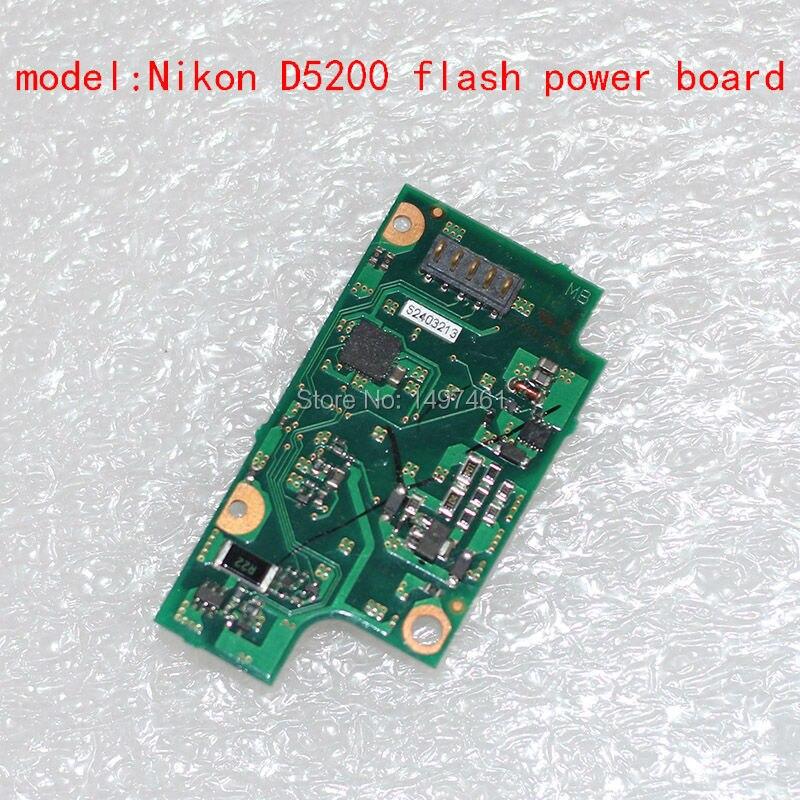 New Originak Flash Power board/PCB repair parts For Nikon D5200 SLR