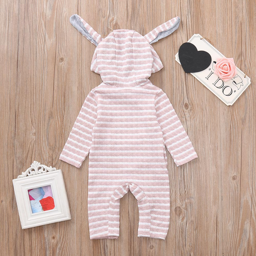 Rompers Boys' Baby Clothing Muqgew Baby Rompers Boys Girls Cloud Smile Hooded Autumn Winter Clothes Newborn Infant Long Sleeve Romper Jumpsuit Outfit