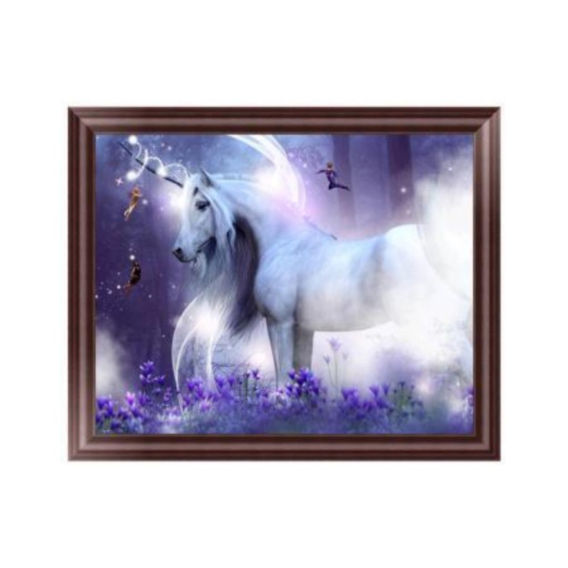 New 5D Diamond Embroidery Horse Painting Cross Stitch DIY Craft Home Office Decor
