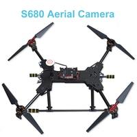 MIZEKONDA New Aerial Camera Carbon Fiber S680 Rack Arm Paddle Foldable Drone Carbon Fiber Composite Drone Portable High Quality