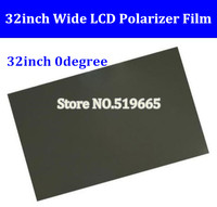 32inch Wide Lcd Polarizer Film Sheet For 32 Inch Wide Screen 0 Degree Glossy Polarizing Film