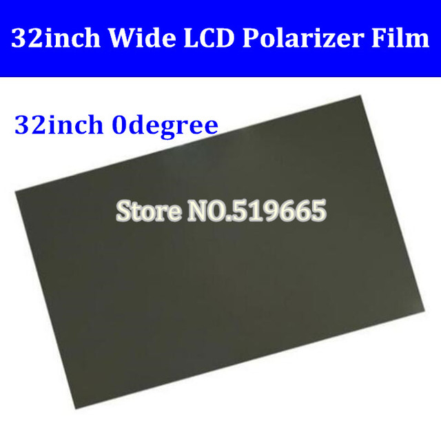 New 32inch 32 inch 0 degree Glossy 715MM*410MM LCD Polarizer Polarizing Film for LCD LED IPS Screen for TV