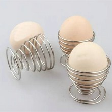 Фотография kitchen Tools Egg Holders Multifunctional Egg Rack Fruit Rack Storage Racks Eggs Stainless Steel Spring Supporting