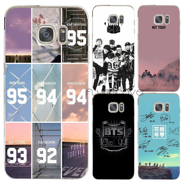 new style efca2 bcf47 US $4.98 |Coque Bts Bangtan Boys Capa Clear Soft TPU Silicone Cover for  Samsung Galaxy S9 S8 Plus S6 S7 Edge Plus Note 8 5 4 3 S4 S5 Cases-in  Fitted ...