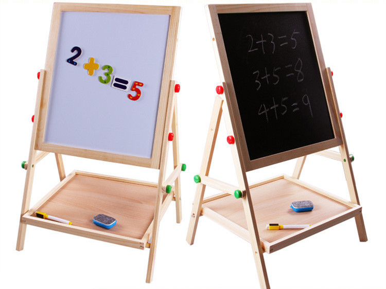 Baby Toys Multifuncational Children Drawing Board Double Faced Teaching Toy Educational Blackboard Montessori Birthday Gift