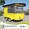 KN 320 Coffee Mobile Food Truck Ice Cream Cart Hot Dog Mobile Food Cart Trailers With