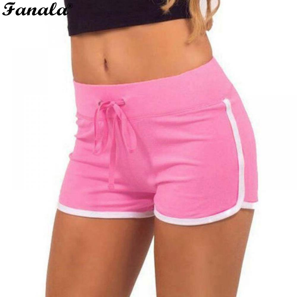 Ladies Summer Multicolors S/M/L Women   Shorts     Shorts   Size Elastic Cozy Cotton Causal Patchwork Girls Soft hot Skinny