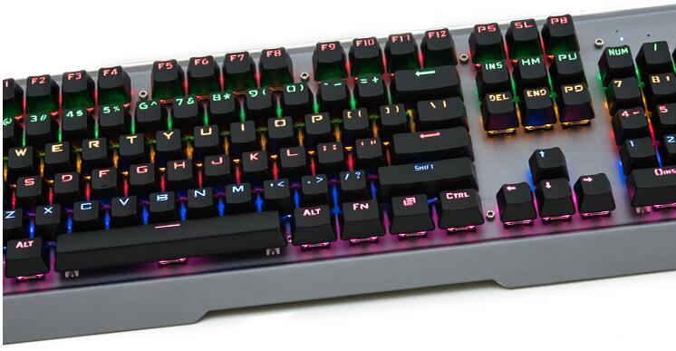 цены Backlit 104 keys ABS backlighting shine LED translucent OEM mechanical keyboard keycap filco 104 cherry mx keycap