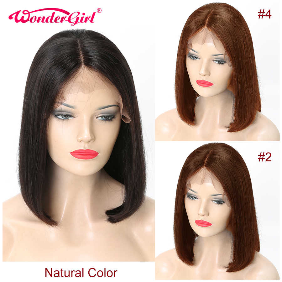 Straight Bob Lace Front Wigs Short Human Hair Wigs For Black Women Remy Brazilian 360 Lace Front Human Hair Wigs