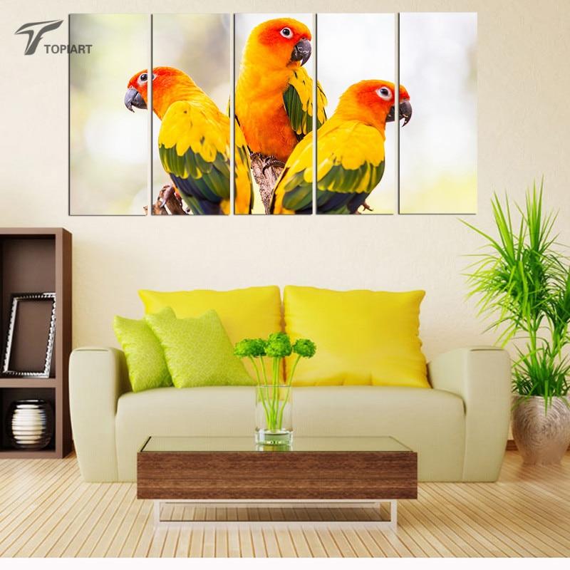 Online kopen wholesale papegaai kleurplaten uit china papegaai kleurplaten groothandel - Moderne kamer volwassen schilderij ...