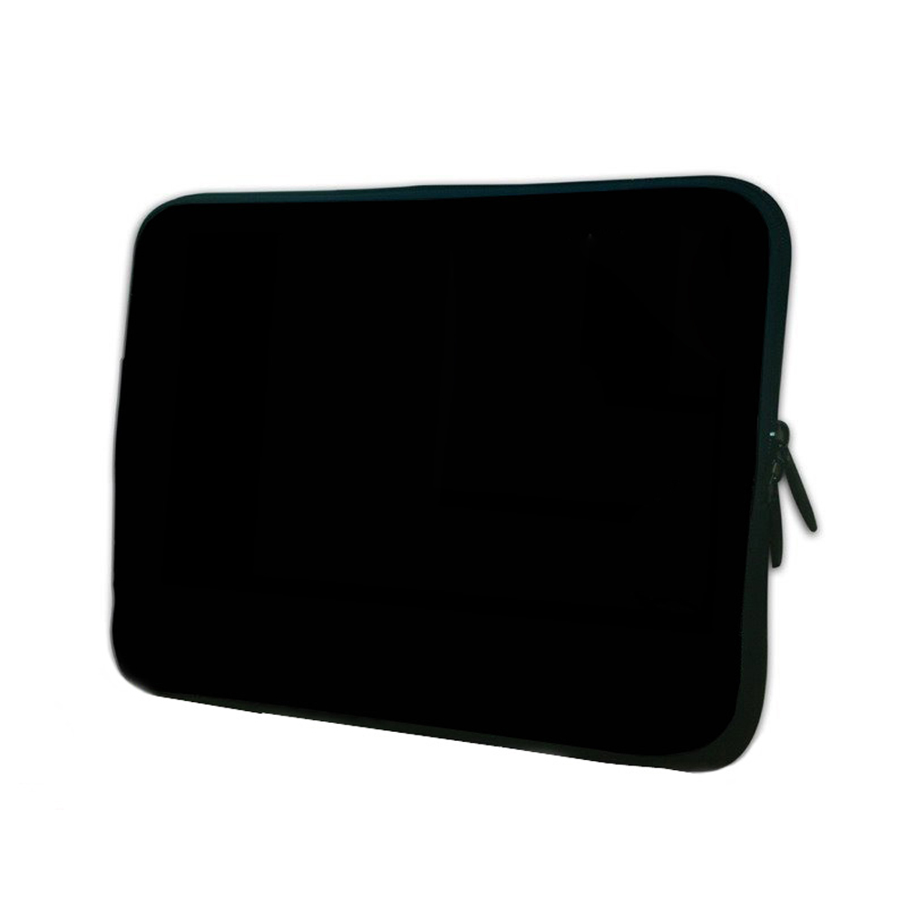 Fashion Black Cover Neoprene Soft 10 9.7 inch Tablet Sleeve Bag Zipper Cases Protector Accessories For Samsung Galaxy Note 10.1