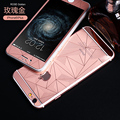 Tempered glass for iphone 6 / 6s 3D full screen overlay diamond film 2016 new steel around steel color film i 6 s