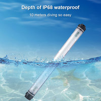 UYLED 10400mAh Power Bank Outdoor 56 LED Camping Light Rechargeable IP68 Waterproof For Phones Lanterns Light