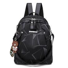 642f4f9ab280d Kobiety Oxford plecak kobiet 2019 nowy koreański Anti-theft plecak moda  podróży torba damska plecak