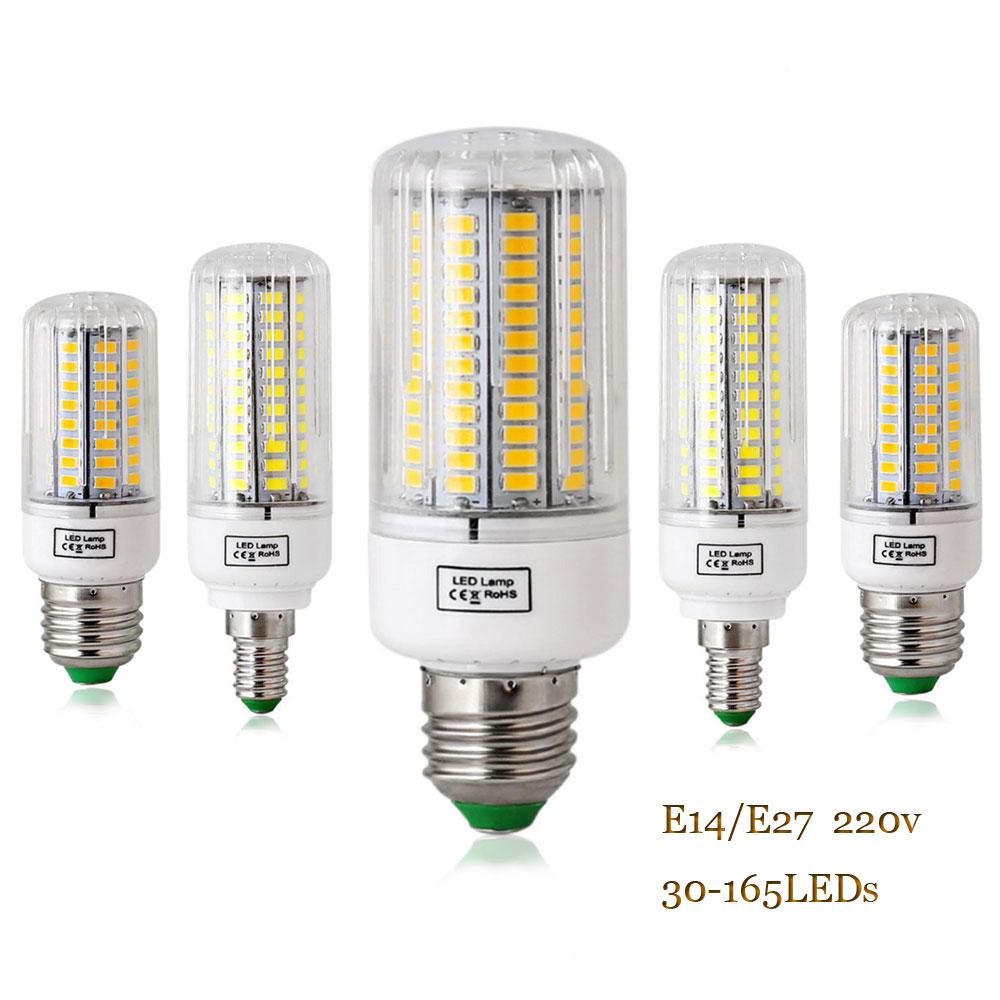 Smd 5736 lampada led lamp e27 220v e14 led bulbs 20w 25w for Lampada led e14