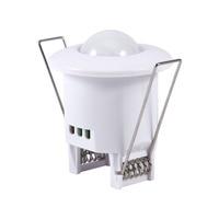 110 240V AC Mini Adjustable 360 Degree Ceiling PIR Infrared Body Motion Sensor Detector Lamp Light