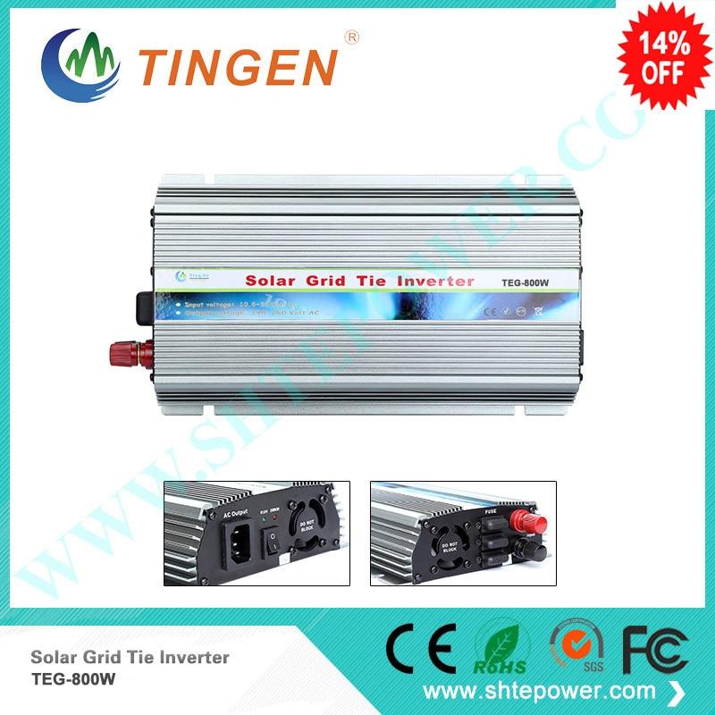 Shipping Method TNT Fedex 800W MPPT Solar on grid tie panels inverter power invertor 12V 24VDC input to 90-130v 190-260v output 1kw on grid tie mppt solar inverter 1000w dc 22 60v input to ac 190 260v 90 130v output