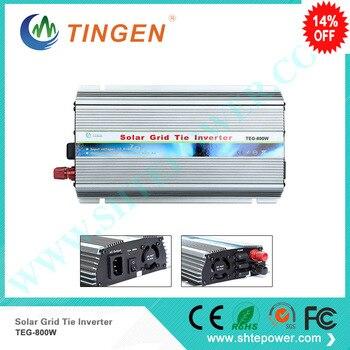 Shipping Method TNT Fedex 800W MPPT Solar on grid tie panels inverter power invertor 12V 24VDC input to 90-130v 190-260v output
