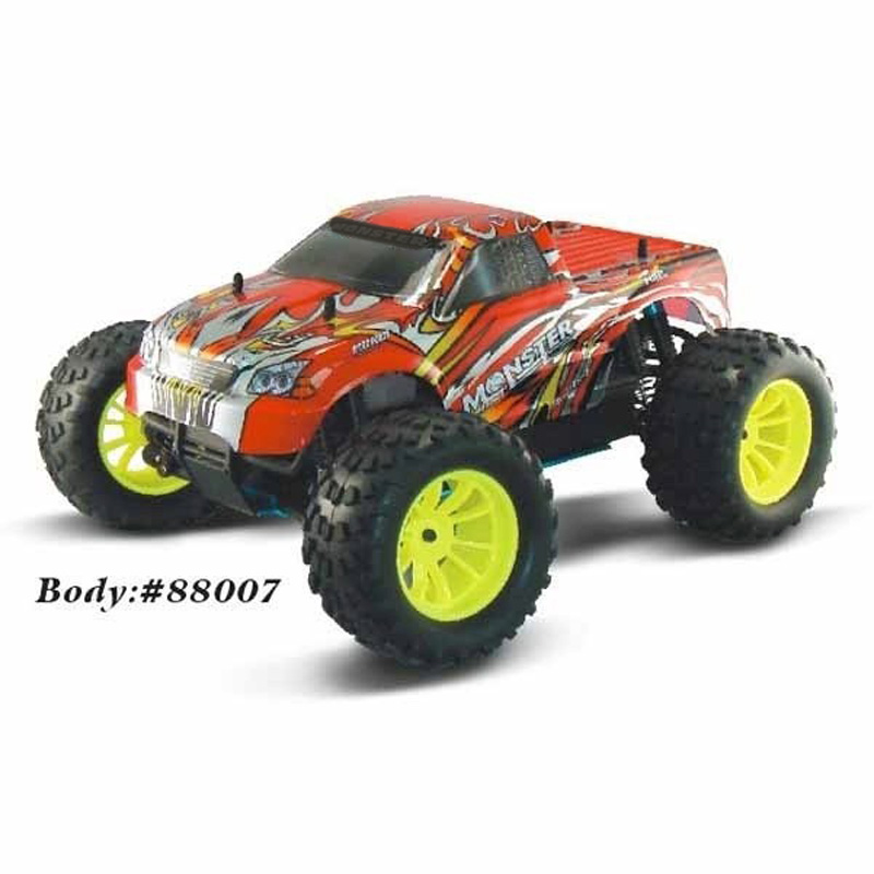 HSP Baja 1/10th Scale Nitro Power Off Road Buggy 4WD RC Hobby Cars 94166 With 18cxp Engine 2.4G Radio Control