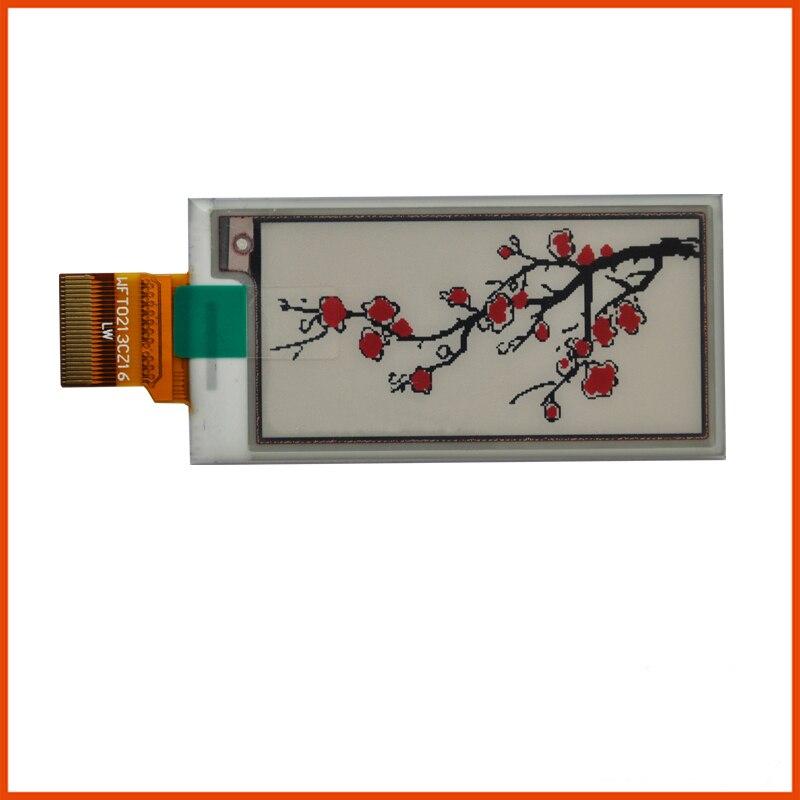 2.13 Inch HD 200*200 Red E-ink Screen E Ink Module 184 DPI Electric Paper Tag Screen SPI Eink GDEW0213Z16 EPaper