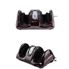 цена на Electric Heating Foot/Body/Leg Massager Shiatsu Kneading Roller Vibrator Machine Reflexology Calf Leg Pain Relief Relax