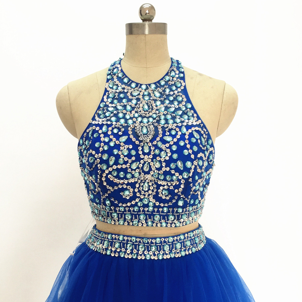 Homecoming Dress For Graduation Short Prom Dresses 2017 Royal Blue ...