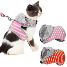 Durable Cat Dog Harness And Leash Cat Collar Harnesses Vest Pet Traction for Small Medium Dog Cat Puppy