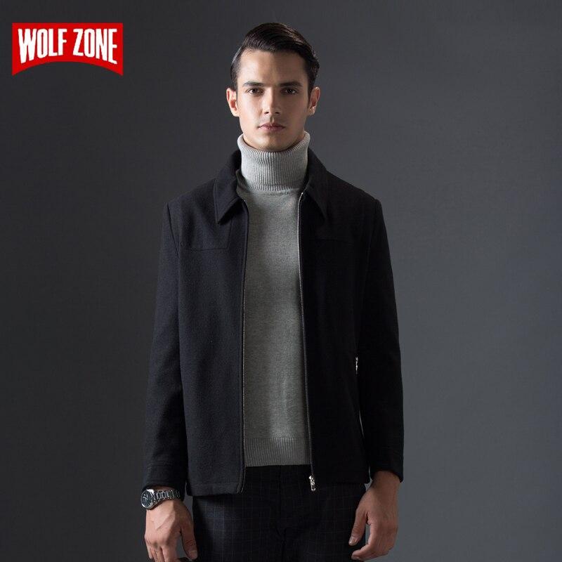 Abrigo de otoño e invierno de gran venta para hombre, chaqueta de negocios informal, chaqueta cómoda, abrigo de marca para hombre-in Chaquetas from Ropa de hombre    1