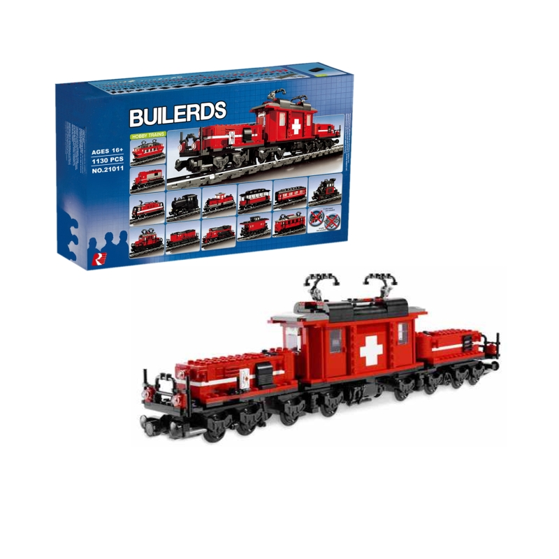 Lepin 21011 Hobby Trains building bricks blocks Toys for children boys Game Model Gift Compatible with Bela Decool 10183