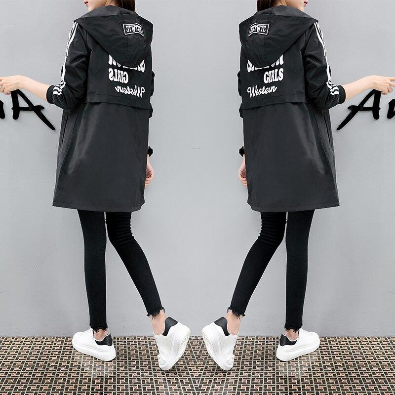 Plus cotton thick coat women long 2019 new autumn casual coat coat female