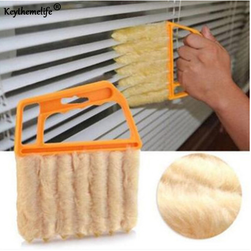 Shutters Window Cleaner Curtain Cleaner Air Conditioner Outlet Cleaning Brush Opening Dusting Brush B