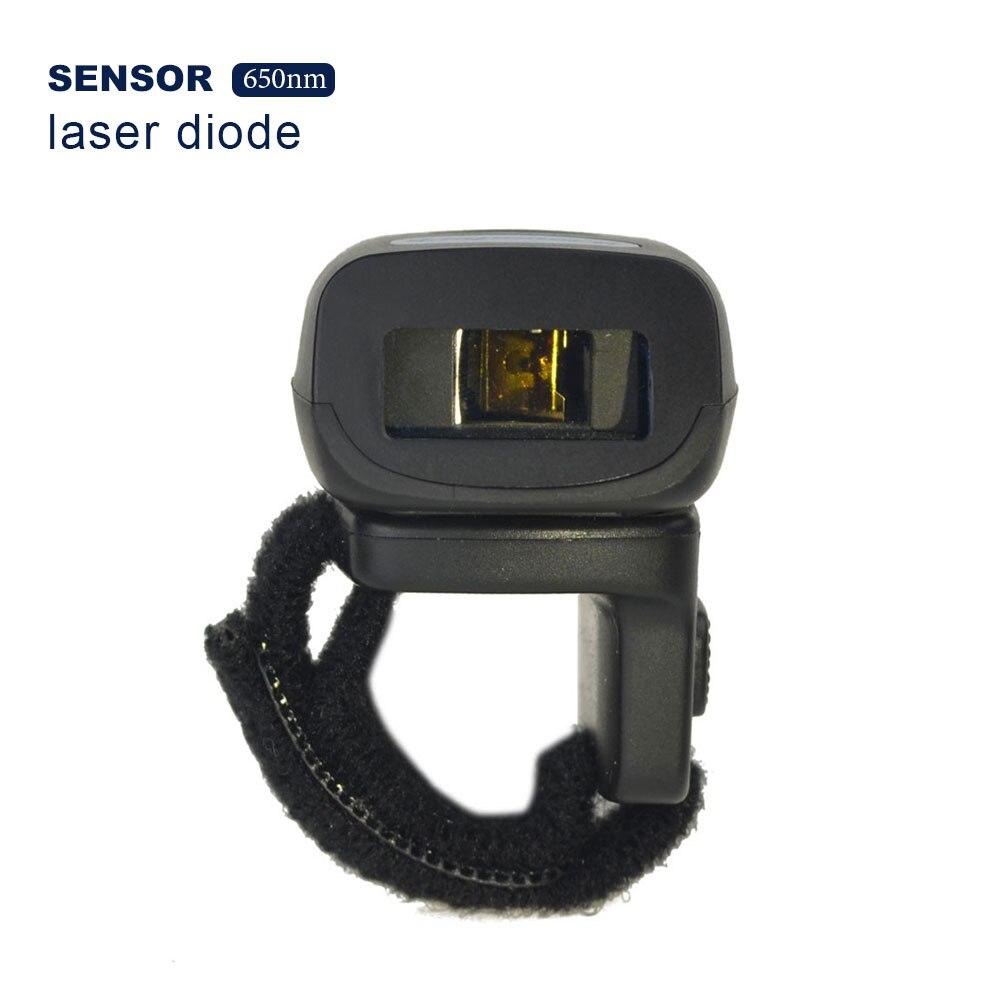 FS03 носимых кольцо 1D лазерный сканер Bluetooth сканер штрих-кода 32bit USB для IOS Android Windows Mac