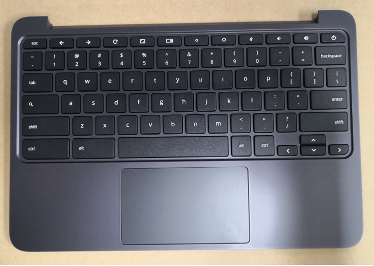 NEW for HP Chromebook 11 G5 Laptop Palmrest Case Keyboard & Touchpad 917442-001 for hp 15 ac 15 af laptop palmrest w keyboard touchpad 813974 001 black