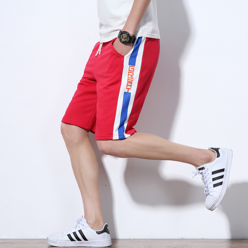 Summer mens   shorts   Calf-Length Fitness Bodybuilding fashion Casual gyms Joggers workout   short   pants Sweatpants