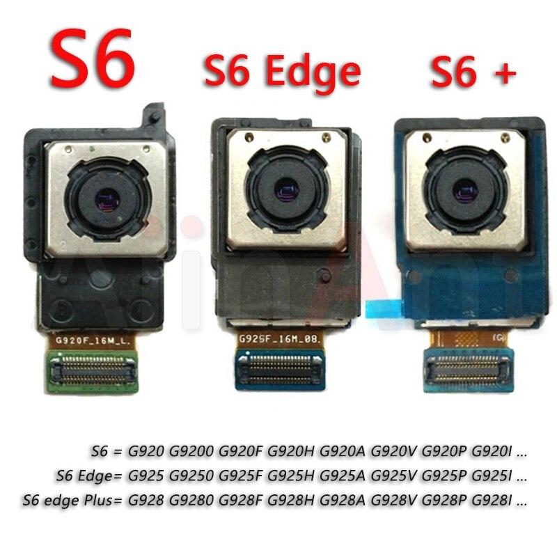 Original pour Samsung Galaxy S6 Edge Plus G920F G925F G928F G9200 G9250 G9280 remplacement de câble flexible de caméra arrière principale arrière