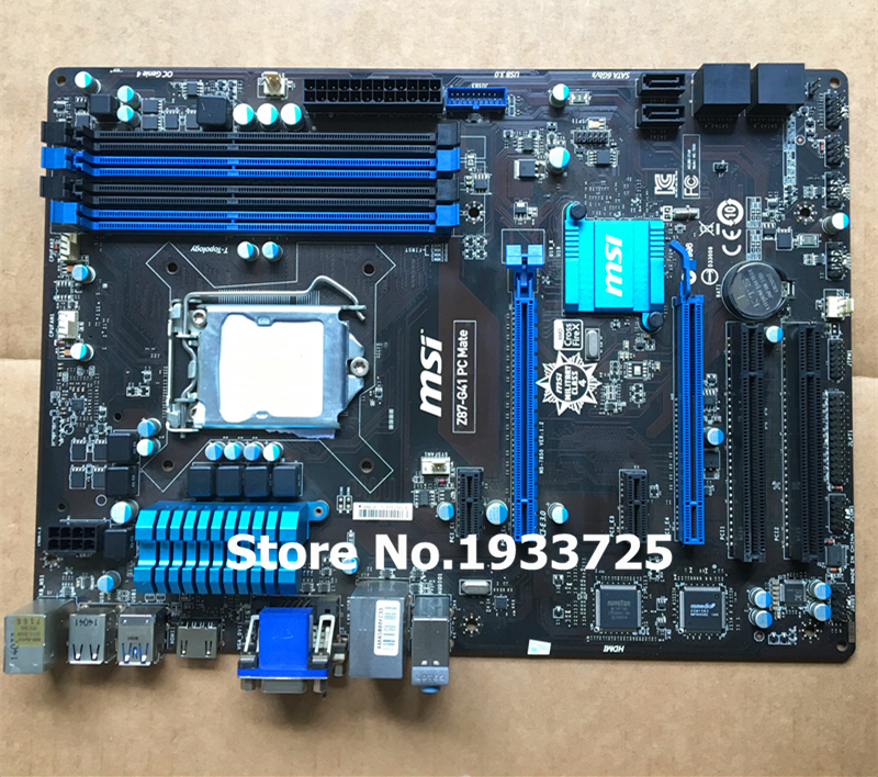 desktop motherboard msi Z87-G41 PC Mate LGA1150 DDR3 system mainboard fully tested for msi ms 10371 intel laptop motherboard mainboard fully tested works well