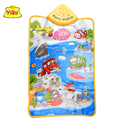Spanish Waterproof musical cushion playing mat for kids car sounds educational toys