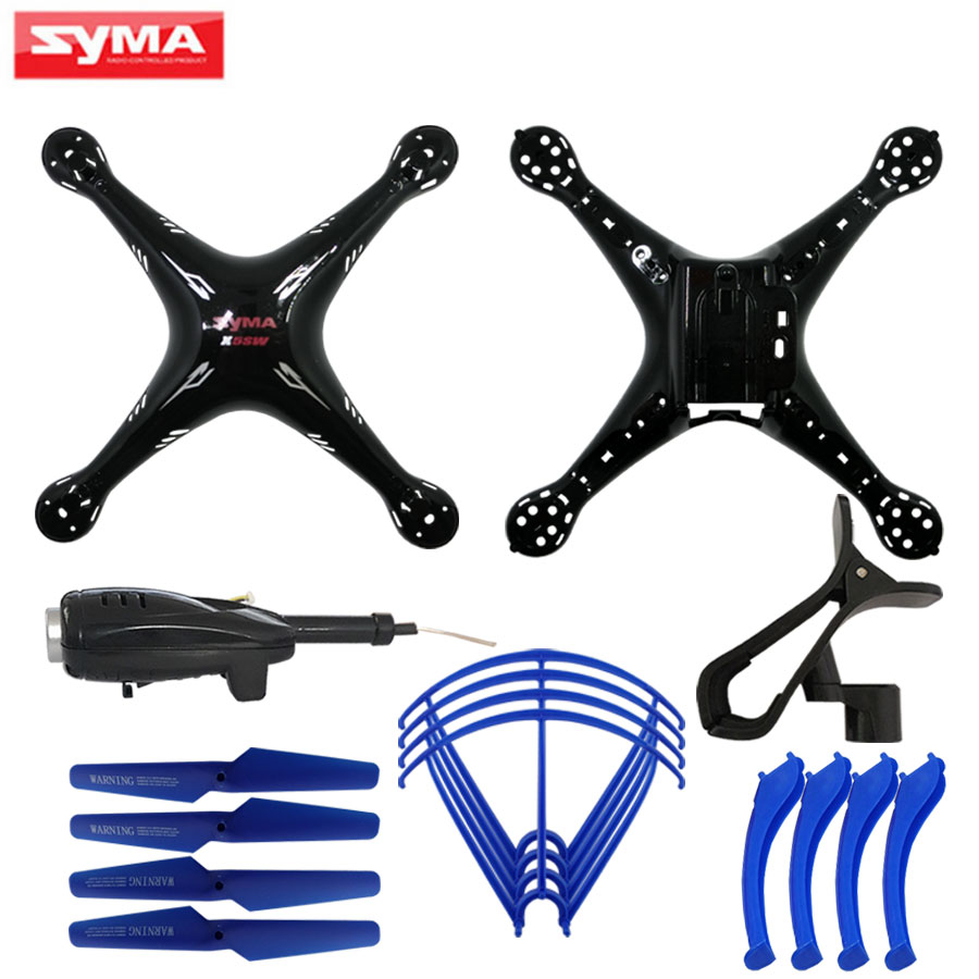 SYMA Shell For X5SC X5SW RC Helicopter its Main body + FPV WiFi Camera + Propeller blades + landing gear Quadcopter Spare Parts 6color syma x8c x8w x8g drone main body landing gear propeller protective frame spare parts for rc helicopter accessories