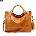 new hot genuine leather woman handbags tote vintage large capacity women messenger crossbody bags luxury women shoulder bag
