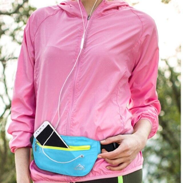 Women Men Casual Waist Bum Bag Belts Waterproof Pouch Fanny Pack Waterproof Waist Packs
