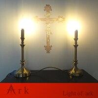 ark light design Prayer room table lamp for Catholic Christ prayer