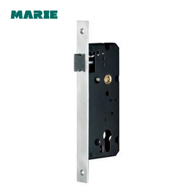 ML003 Stainless Steel Single Point Mortise Lock Body Door Handle locking Door Lockcase ...